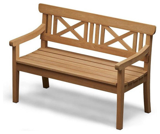 Drachmann Bench Contemporary Outdoor Stools And Benches By Danish Design Store