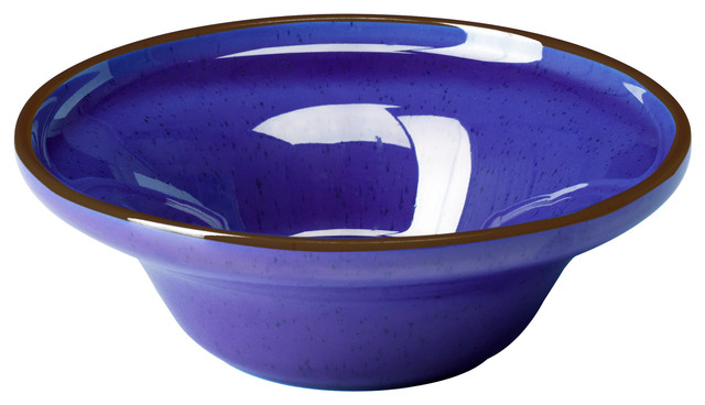 Cobalt Blue Bowl (and Plate) eclectic-serveware