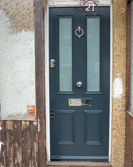 series of Victorian and Edwardian Front Doors contemporary-