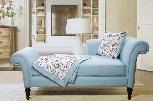 Sandy Wilson Cashmir Fainting Couch chairs