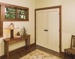 Craftsman Look for Interior Doors craftsman-interior-doors