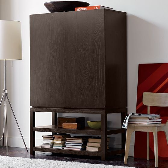 Parsons Media Armoire Modern Entertainment Centers And
