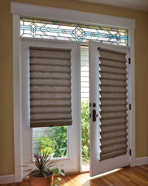 Custom French Door Shades amp Blinds Two Blind Guys St