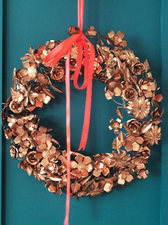 Copper Wreath -