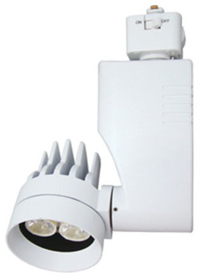 CTL804L2V 13W 27K Medium Dimmable Mini Optica Track Fixture modern-track-lighting
