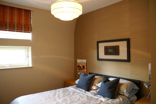 African inspired bedroom asian-bedroom