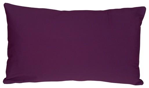 Pillow Decor - Caravan Cotton Purple 12 x 19 Throw Pillow contemporary-decorative-pillows