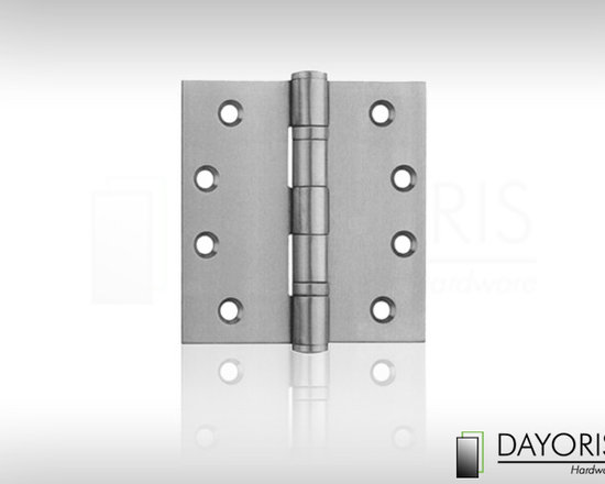 Invisible Hinges - Stainless steel European style hinges to surprise the look of any small or large modern home. Exceptionally invisible and sleek in appearance, at Dayoris we carry only the best line of hidden hinges. Both our exterior and interior stainless steel hinges are the finest quality in today's modern market.