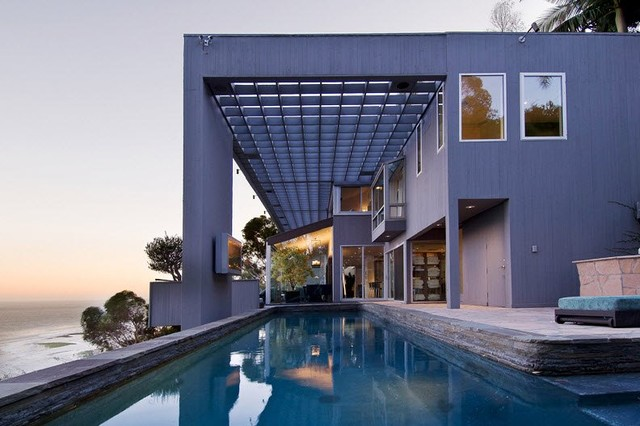 various projects contemporary-pool