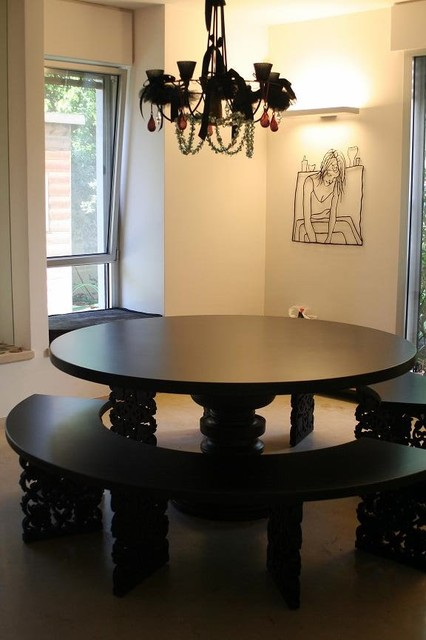 MODO design - Black Table1 modern-dining-tables