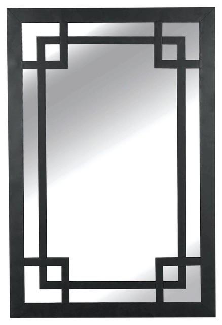 Greek Key Framed Mirror - Lamp Shades - by Shades of Light