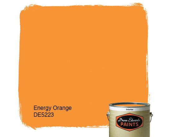 Dunn-Edwards Paints Energy Orange DE5223 -