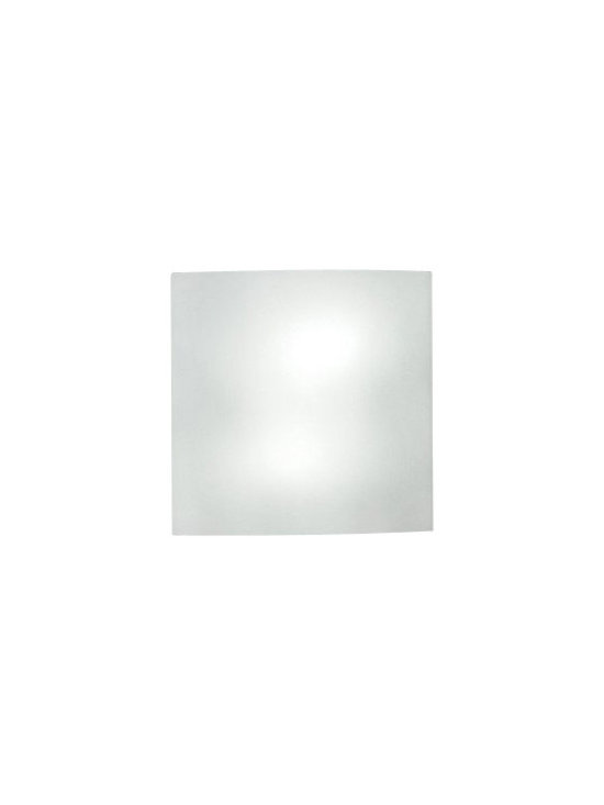 """Artemide - Artemide Facet wall sconce - The Facet wall sconce has been designed by Ron Rezek for Artemide. This wall mounted luminaire is perfect for diffused incandescent or fluorescent lighting. The diffuser comes available in a sandblasted faceted glass. UL Listed.   Product Details:   The Facet wall sconce has been designed by Ron Rezek for Artemide. This wall mounted luminaire is perfect for diffused incandescent lighting. The diffuser comes available in a sandblasted faceted glass. UL Listed.  Details:                         Manufacturer:                         Artemide                                         Designer:                        Ron Rezek                                         Made in:            Italy                            Dimensions:                         Height: 12"""" (30.5 cm) X Width: 12"""" (30.5 cm) X Depth: 4"""" (10 cm)                                         Light bulb:                         2 X 75W incandescent                                         Material:             steel,glass"""