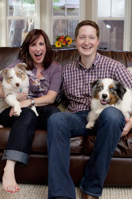 Homeowners Valerie and Matt Dickman eclectic