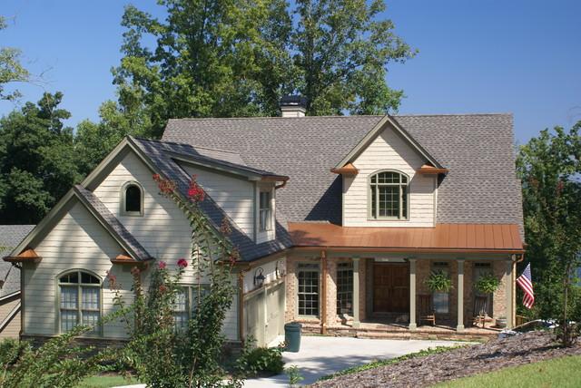 Northeast Georgia Custom Homes traditional-exterior