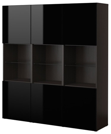 BESTÅ Storage combination with doors modern-storage-cabinets