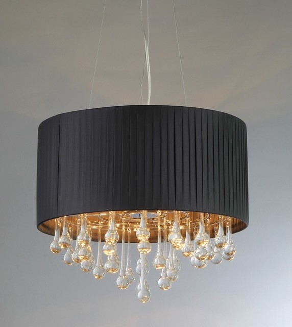 Urban Crystal Chandelier contemporary-chandeliers