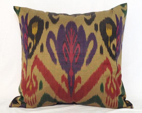 ikat pillow covers, ikat, ikat cushion, yellow ikat, blue ikat, red ikat, ikat - ikat pillow cover, ikat sofa pillow, ikat pillow case,