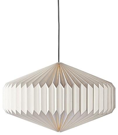 Origami Paper Pendants Oval Modern Pendant Lighting