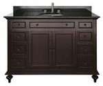 avanity-merlot-48-in-vanity.aspx traditional bathroom vanities and sink consoles