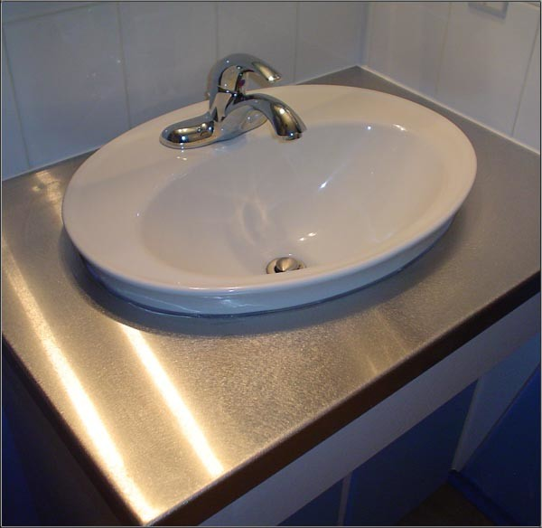 Wonderful Stainless Steel Bathroom Vanity Top Fallcreekonline Org