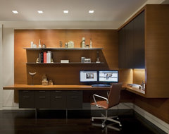 57th Street Residence modern-home-office