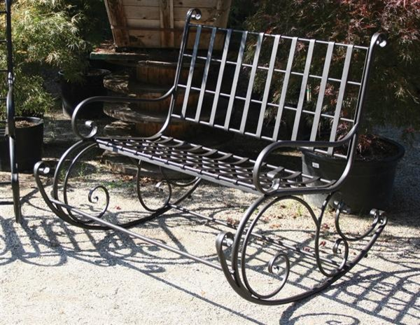 Garden rocker for two victorian outdoor rocking chairs for Outdoor furniture kansas city