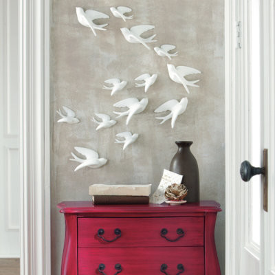 set of five birds of flight wall art grandin road. Black Bedroom Furniture Sets. Home Design Ideas