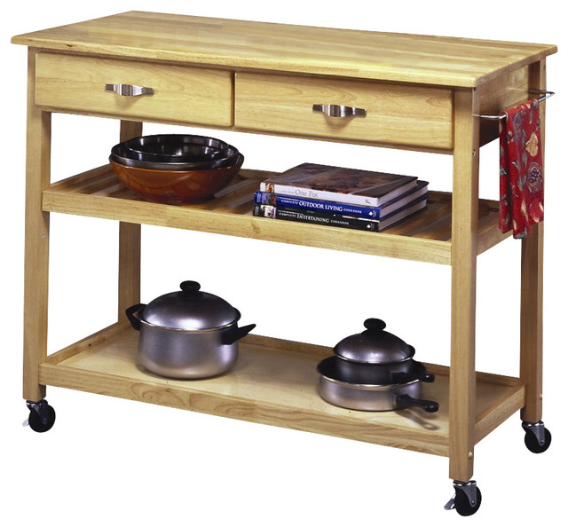 Designer Utility Cart Contemporary Kitchen Islands And