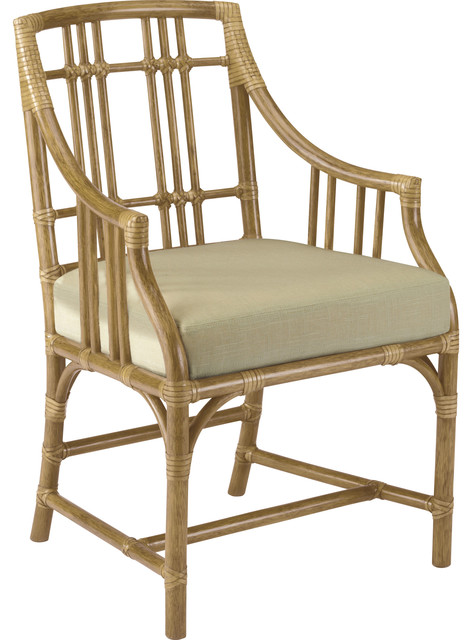 McGuire Designs: Balboa Arm Chair: JSC152 traditional-dining-chairs