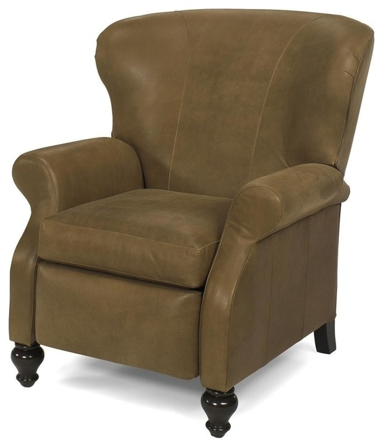 New leather recliner chair consigned antique style for New style chair