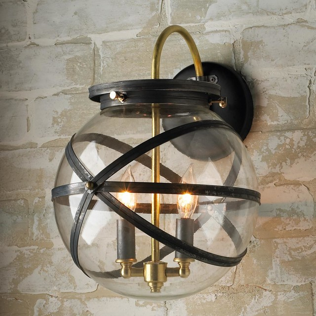 Steam Punk Outdoor Wall Lantern outdoor-wall-lights-and-sconces