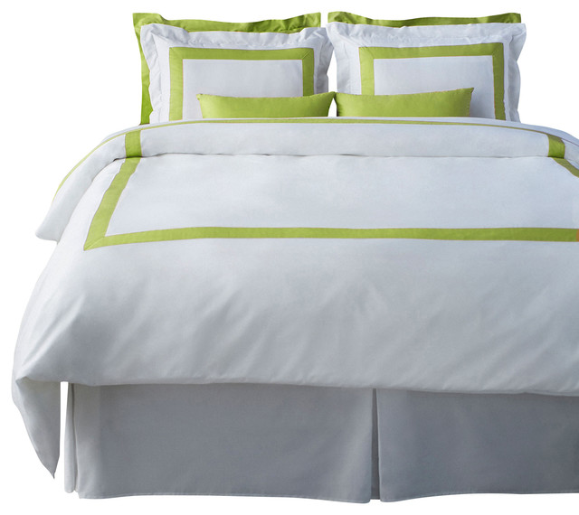 LaCozi Spring Green Duvet Cover Set - modern - duvet covers - by ...