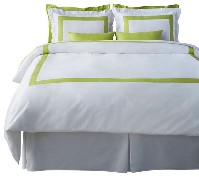 LaCozi Spring Green Duvet Cover Set - Modern - Duvet Covers And Duvet Sets - by LaCozi