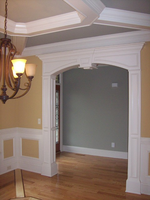 Arches - Traditional - Interior Doors - raleigh - by Woodmaster Woodworks Inc.