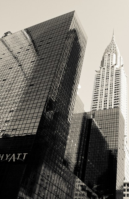 """Chrysler Building"" Artwork contemporary-originals-and-limited-editions"