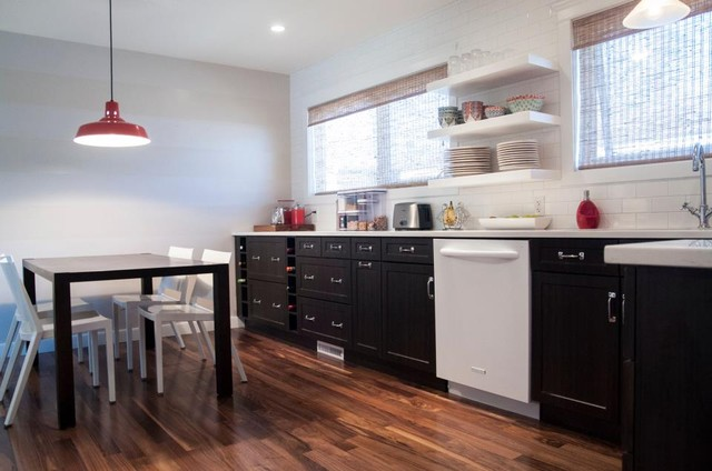 Clean and Bright - Contemporary - Kitchen Cabinetry - edmonton - by Kitchen Craft Cabinetry ...