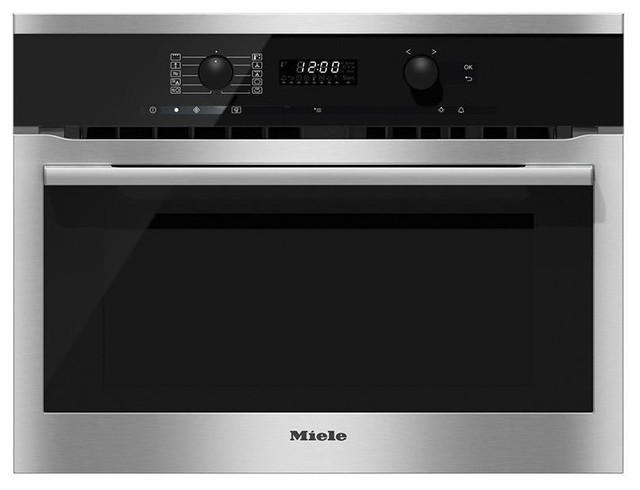 miele 24 speed oven stainless steel h6100bm major kitchen appliances los angeles by. Black Bedroom Furniture Sets. Home Design Ideas