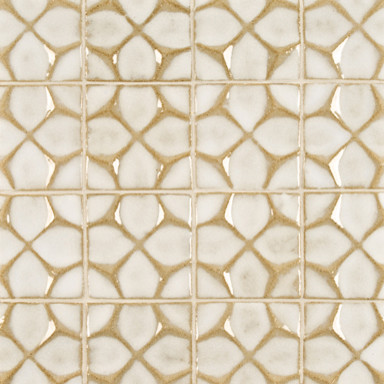 Nottingham Ceramic Art Tile - Ann Sacks Tile & Stone  kitchen tile