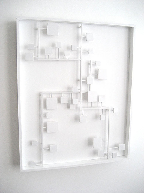 Bossa Nova Abstract Modern Wall Sculpture by The Happy Collective eclectic-sculptures