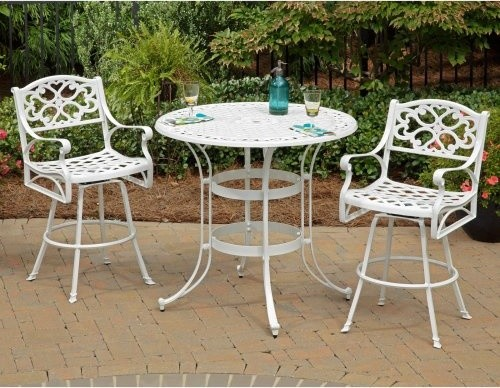 Superb Home Styles Biscayne Patio Bistro Set   Traditional   Patio .