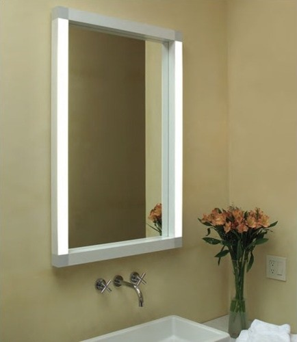 rezek wall mirror modern bathroom mirrors by allmodern