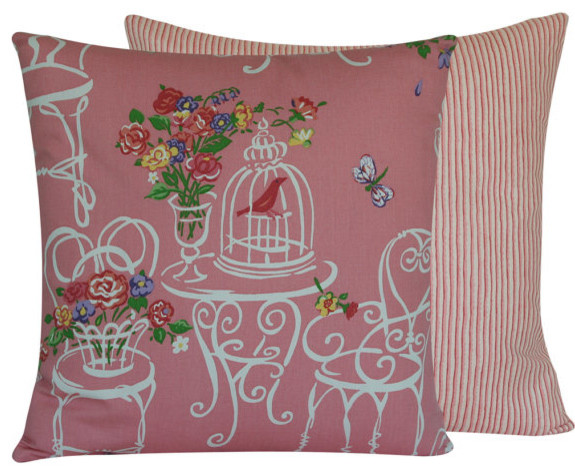Garden Tea Party Collection Decorative Throw Pillow l Chloe and Olive contemporary-decorative-pillows