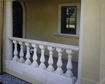 Cast Stone Moldings & Columns traditional-porch