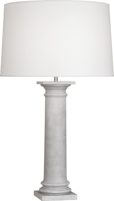 Phoebe Table Lamp, Translucent White contemporary-table-lamps