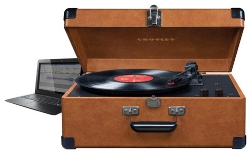 Deluxe Keepsake USB Turntable - Modern - Home Electronics ...