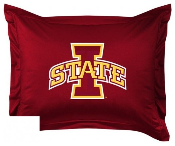 Iowa State Cyclones Locker Room Collection Pillow Sham