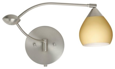 Besa 1WU-5605VM Vanilla Matte Tay Tay Wall Light - 13W in. contemporary-wall-lighting