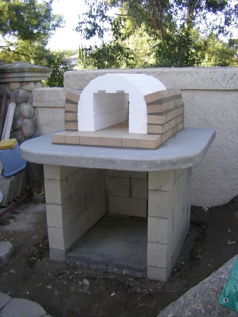 The Schlentz Family DIY Wood Fired Brick Pizza Oven by BrickWood Ovens modern