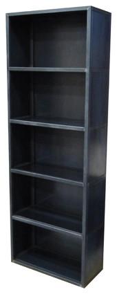 Steel Bookshelf modern-bookcases